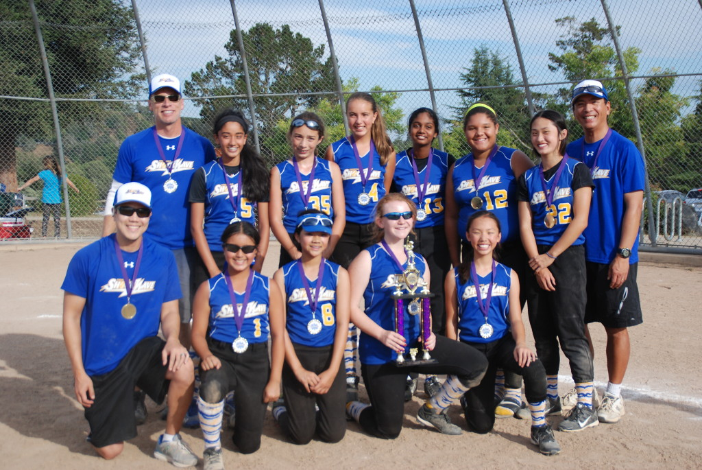2015 Shockave 12C Gold - Blast By the Bay 12U Champions