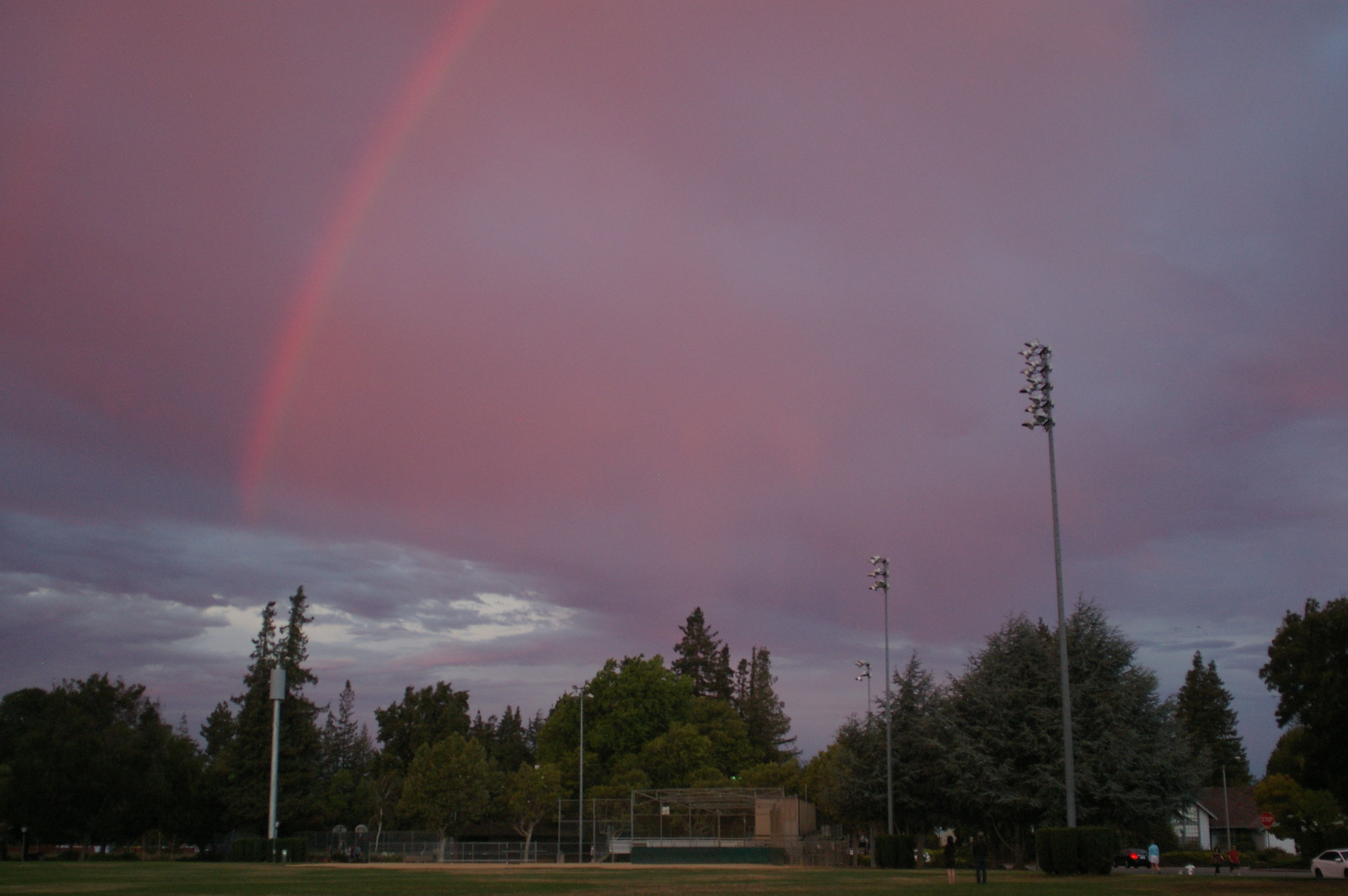Rainbow Over Ortega